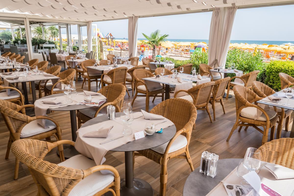 Hotel Villa Sorriso Jesolo Hotel Con Ristorante Frontemare